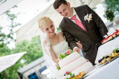 Catering für die Hochzeitsfeier